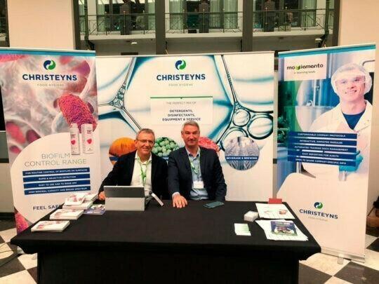 CHRISTEYNS presenta sus productos y servicios en European Food Sure Summit 2019 en Amsterdam