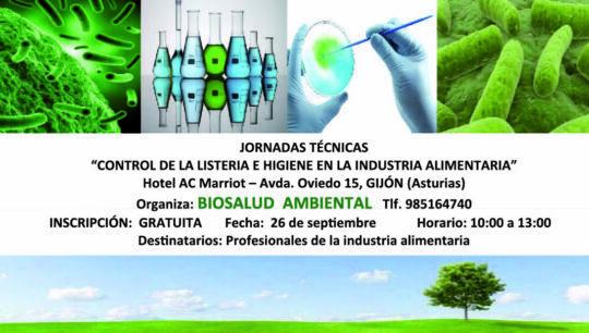 Jornada técnica sobre Listeria monocytogenes en Gijón