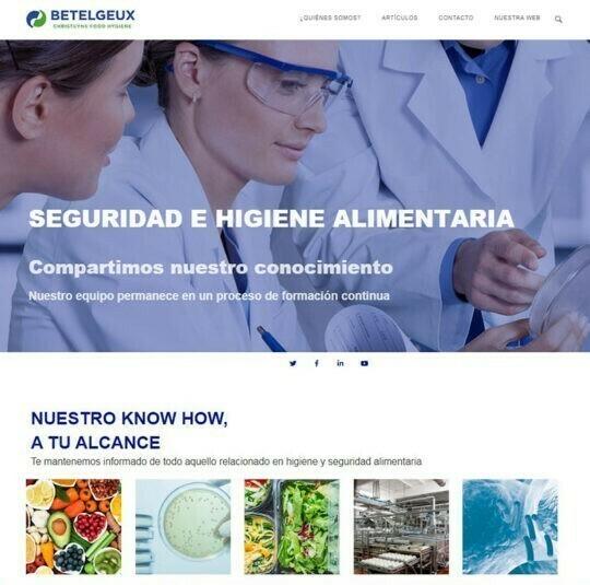 El blog sobre Seguridad e Higiene Alimentaria de BETELGEUX-CHRISTEYNS aumenta sus visitas un 158% en seis meses