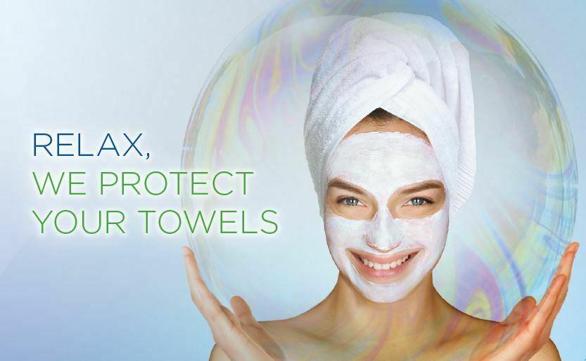 Smart shield protege as suas toalhas das nódoas de polyquaternium