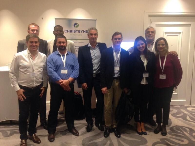 Biofilm summit Lisbon – Christeyns Food Hygiene