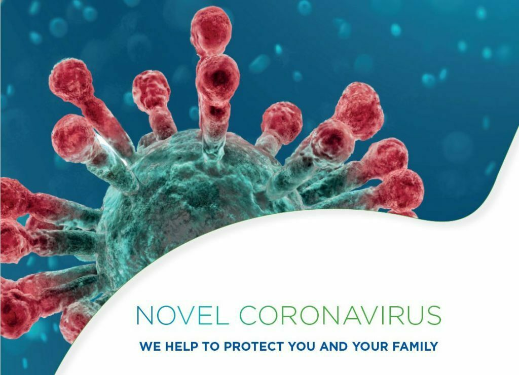 Novel coronavirus - We help to protect you and your family