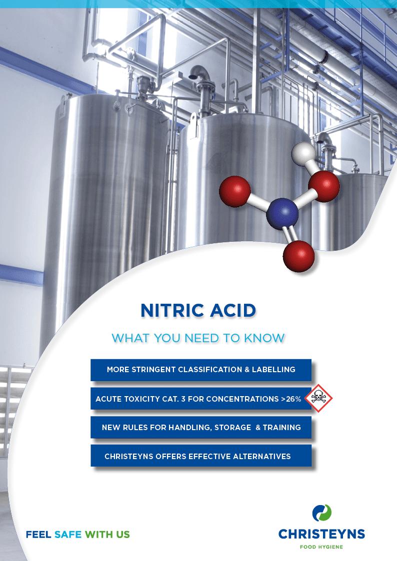 Christeyns alternatives for Nitric Acid