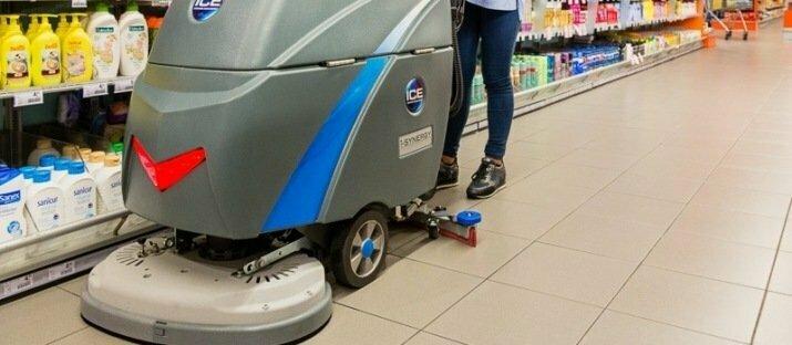 Samenwerking ICE Benelux schoonmaakmachines