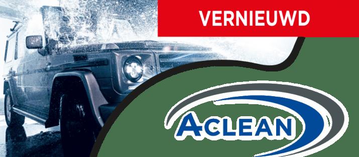 Vernieuwd A-Clean carwash programma