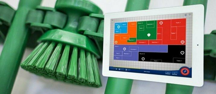 Perfect kleurcoderingssysteem met Zone Planner APP