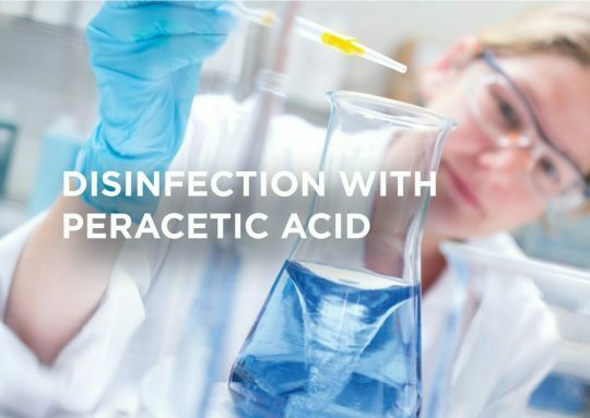 Peracetic acid and the inactivation of viruses