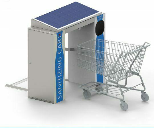 Cart sanitiser