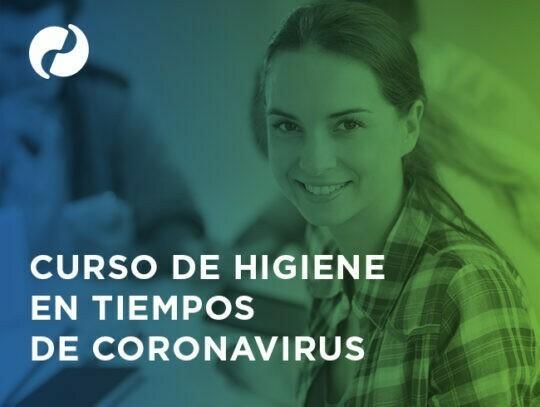 Curso online de limpieza y desinfección en época de coronavirus