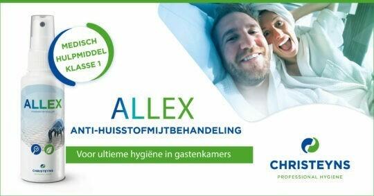 ALLEX anti-huisstofmijt voor ultieme hygiëne in hotels
