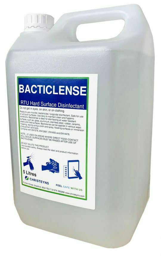 *NEW* Virucidal, bactericidal and fungicidal disinfectant, safe for all touch point surfaces.