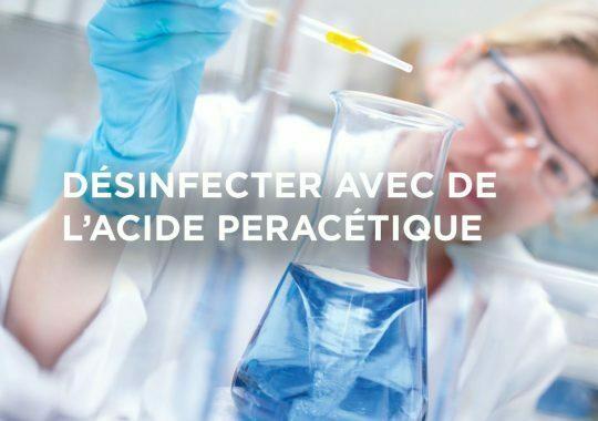 L'acide peracétique et l'inactivation des virus