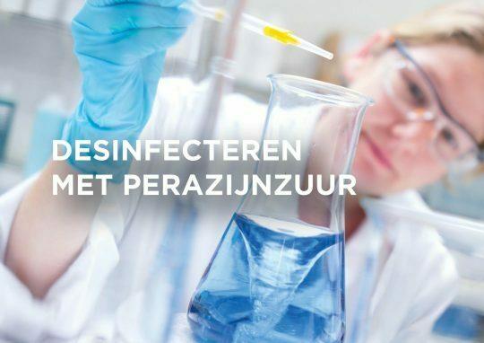 Perazijnzuur en de inactivatie van virussen