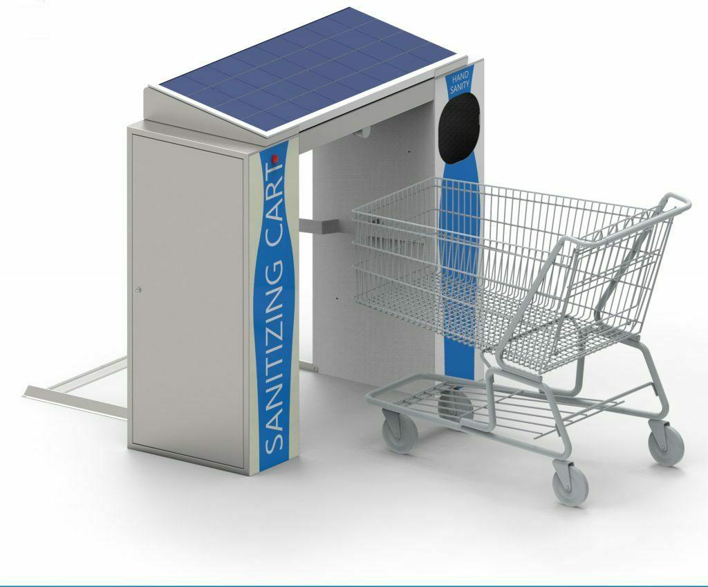 Cart sanitizer