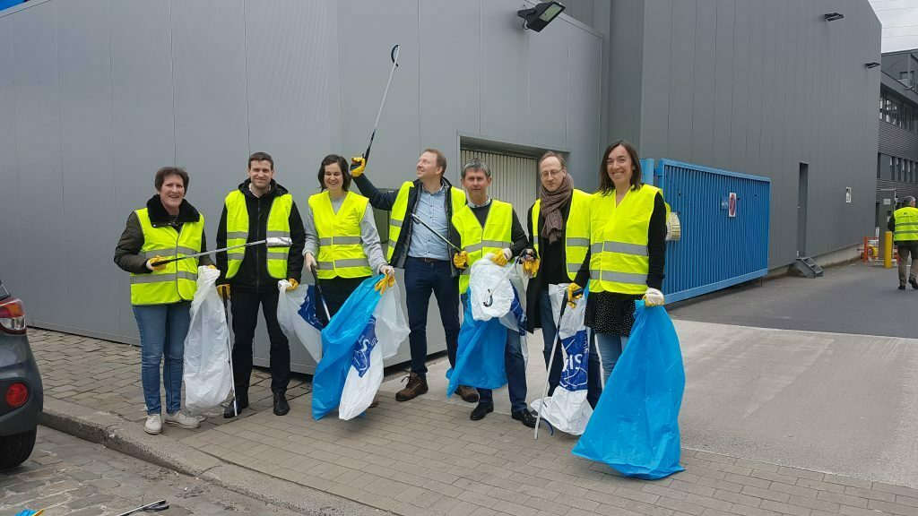 A clean neighbourhood at our headquarters in Ghent