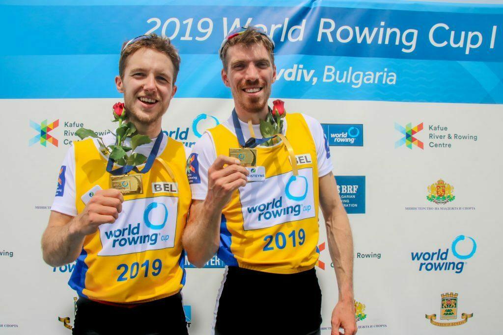 Christeyns supporta i vogatori belgi verso i giochi olimpici