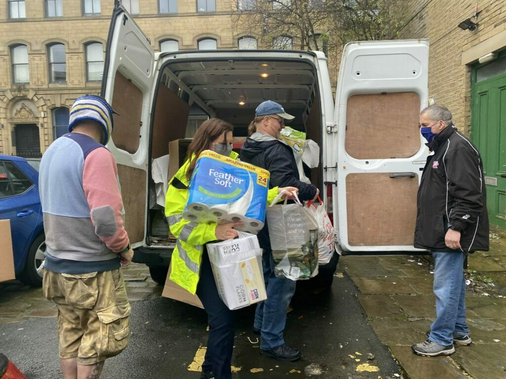 Over 570kg of food donated to local Bradford food bank
