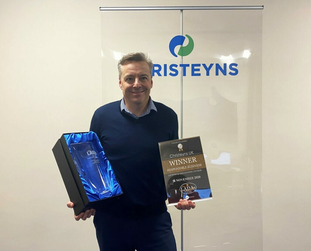 Industry win for Christeyns UK at the LADA's