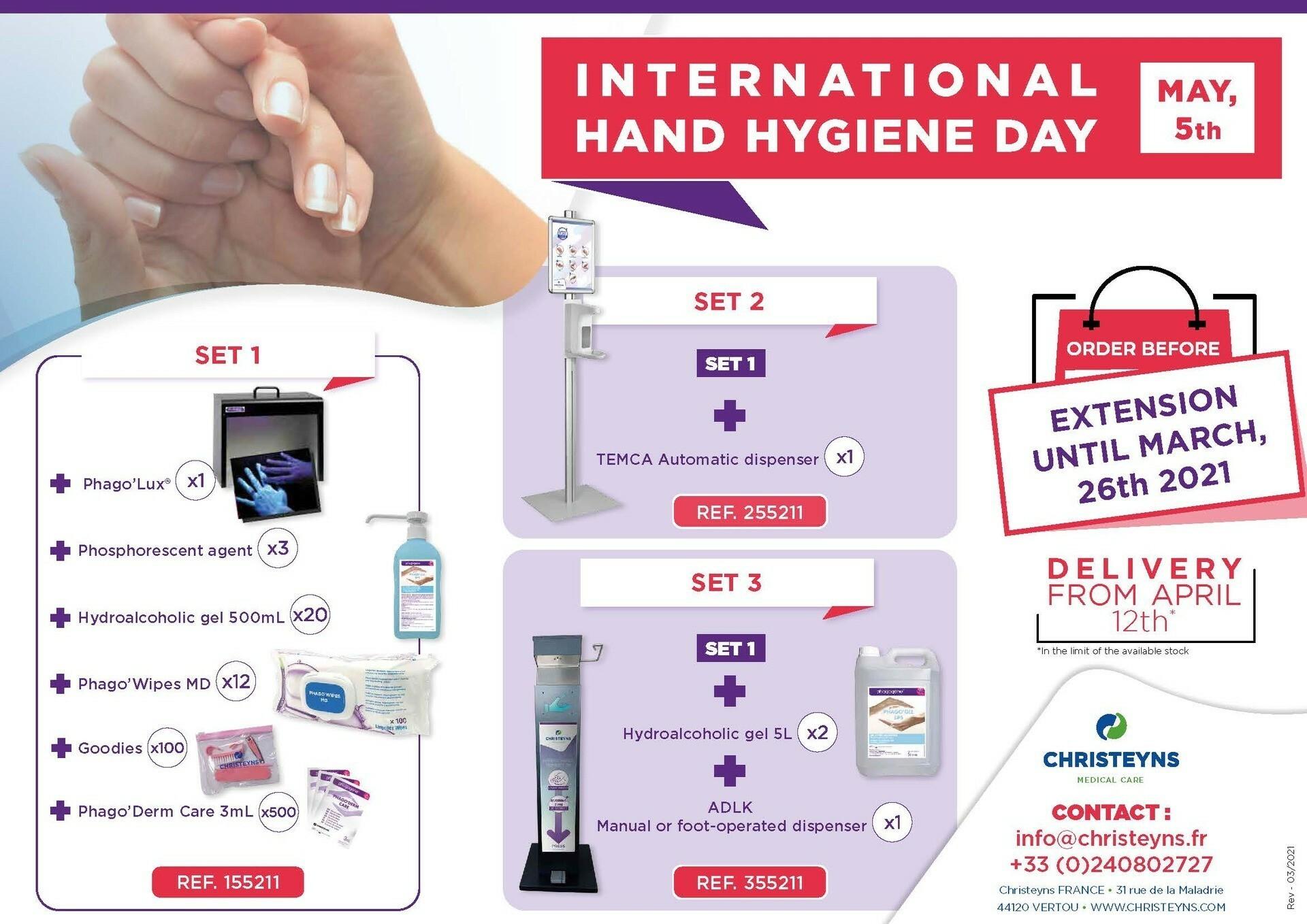 World Hand Hygiene Day 2021