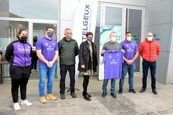 BETELGEUX-CHRISTEYNS patrocina el nuevo equipo de atletismo paralímpico del club de correr El Garbí