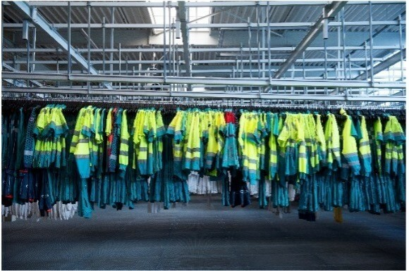 Washing workwear at home, a risky business