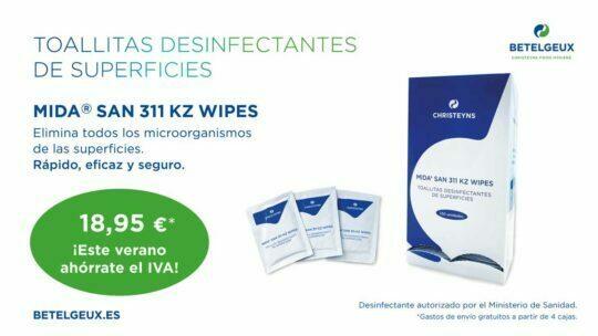 Comprar MIDA SAN 311 KZ WIPES – Toallitas individuales para la desinfección de superficies