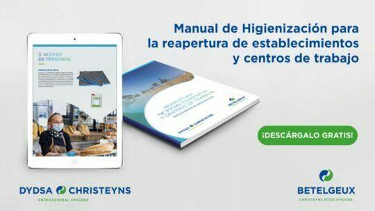 Descárgate gratuitamente el Manual de higiene para la apertura de establecimientos
