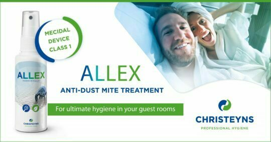 ALLEX anti-dust mite treatment: for ultimate hygiene in your guest rooms