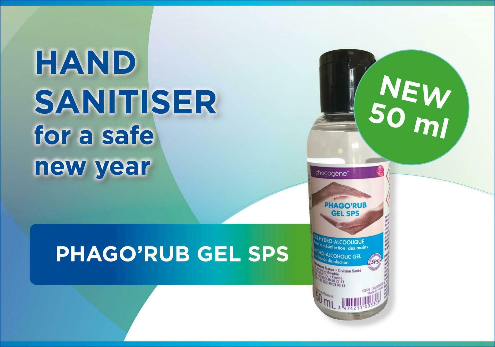 NEW: Phago'rub Gel SPS 50 ml