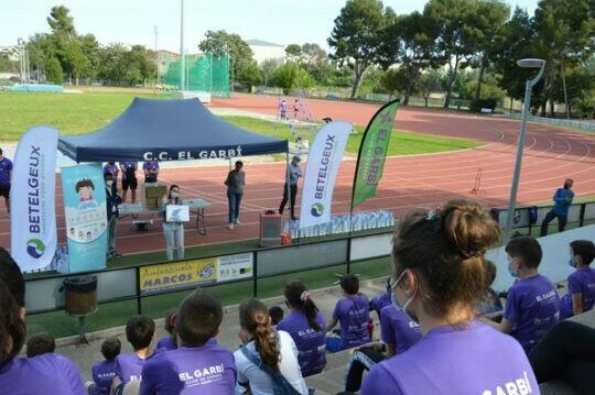 BETELGEUX-CHRISTEYNS celebra el Día Mundial de la Higiene de Manos con el Club de Córrer el Garbí