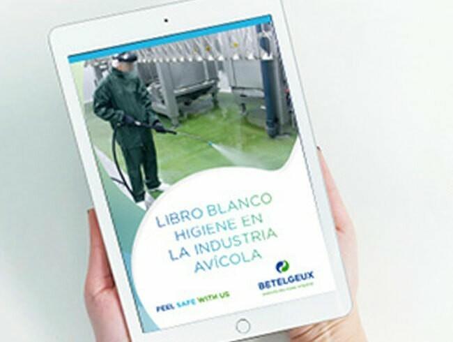 BETELGEUX-CHRISTEYNS lanza el Libro Blanco sobre higiene en la industria avícola para responsables de calidad