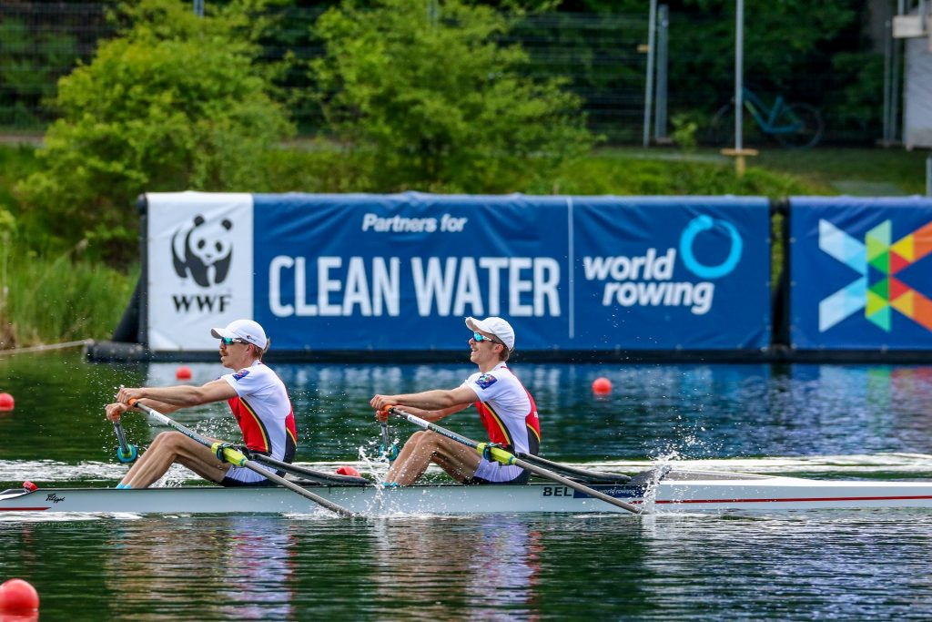 Fingers crossed for Belgian rowers at The Olympics