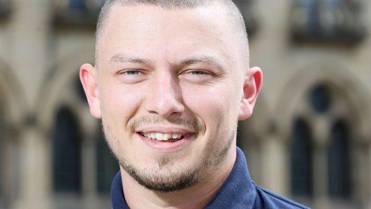 Liam Humphrey's talks Apprenticeships for Bradford Manufacturing Weeks 2021