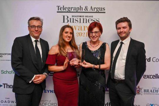 Christeyns UK win Bradford Means Business Sustainability Award